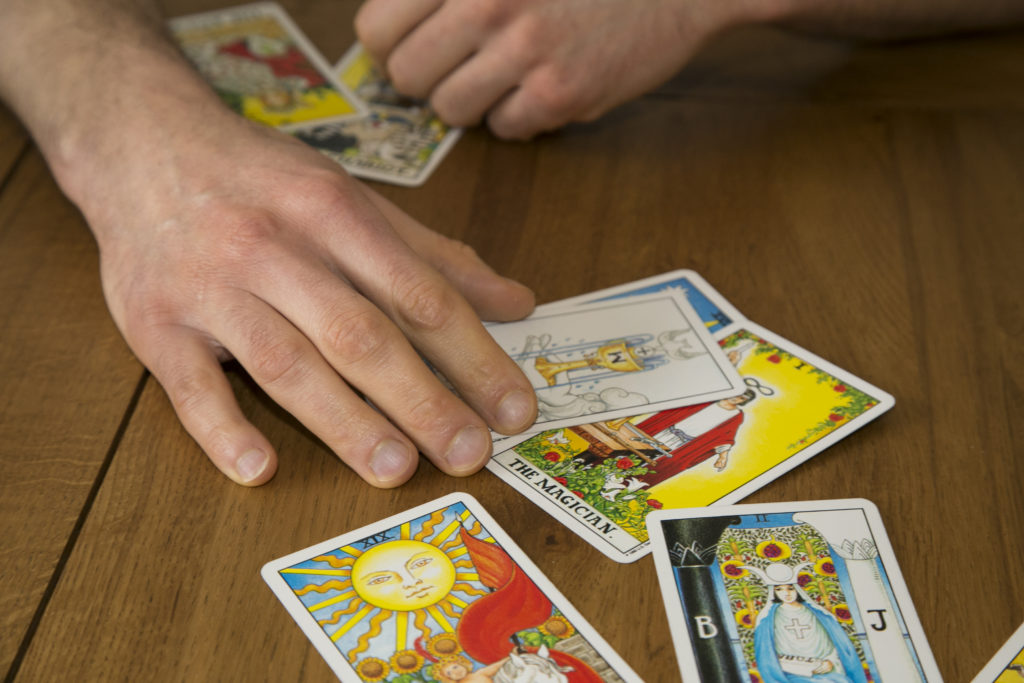 tarot card reading london